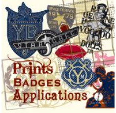 Prints Badges Applications + CD