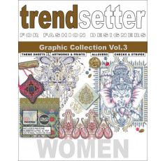 Trendsetter - Women Graphic Collection Vol. 3 + DVD
