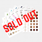 NEW! Pantone® Cotton Chip Set UPDATE 315 New Colors (SOLD OUT)