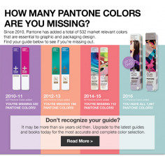 How many Pantone® Colors are you missing?
