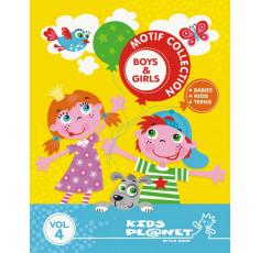 Kids Planet Motif Collection Boys & Girls Vol. 4 incl. DVD
