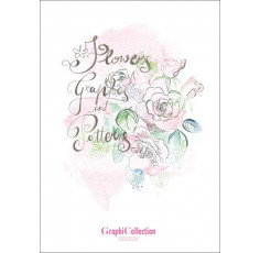 Graphicollection Flowers - Graphics & Patterns Vol. 1 incl. DVD - NEW