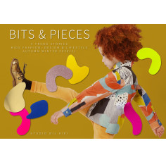 Studio Bij Kiki - 'Bits & Pieces' - Kids Trend Stories and Colour concept A/W 2020/21 - COMING SOON! PRE ORDER NOW!