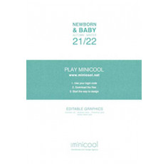 Minicool A/W 2021.22 - Original Graphic Design for New Born & Baby