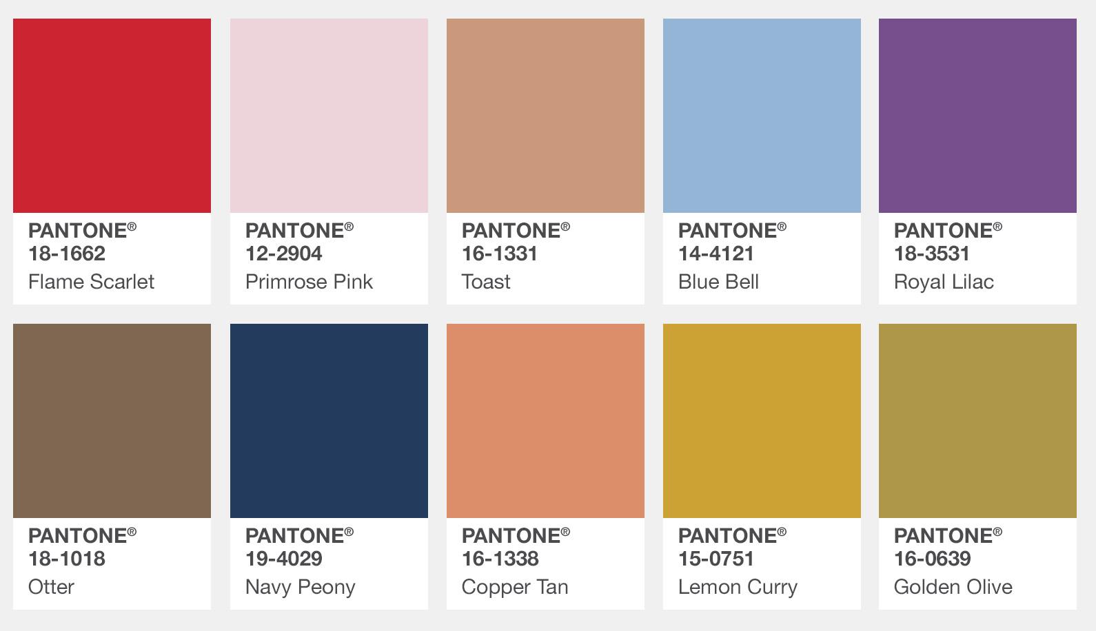 Appletizer for Pantone paint colors